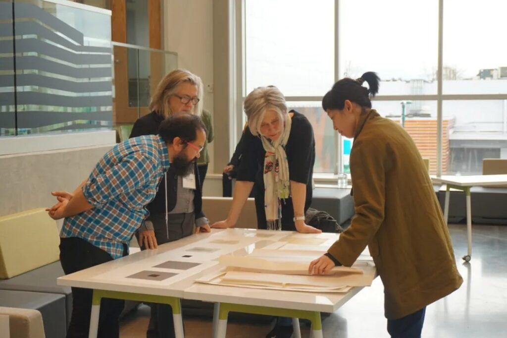 Four artiest teachers discuss meeting